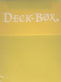Ultra Pro Solid Yellow Deck Box (Lot of 3)