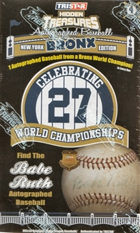 2010 TriStar Bronx Edition Series 4 Baseball Hobby Box