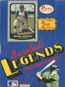1989 Pacific Legends Series 2 Baseball Hobby Box