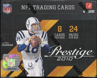 2010 Panini Prestige Football Hobby Box