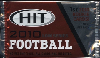 2010 Sage Hit Low Series Football Hobby Pack
