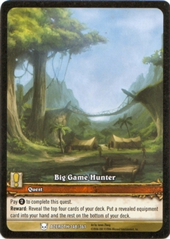 WoW Extended Art Promo Big Game Hunter (EA) (NM/MT)