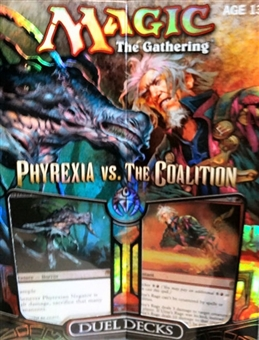 Magic the Gathering Phyrexia Vs. The Coalition Duel Deck