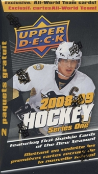 2008/09 Upper Deck Series 1 Hockey 12 Pack Box