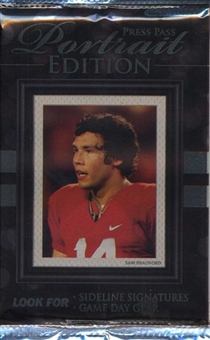 2010 Press Pass Portrait Edition Football Hobby Pack
