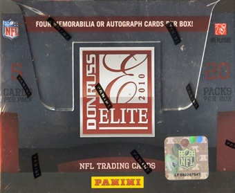 2010 Donruss Elite Football Hobby Box (Panini)