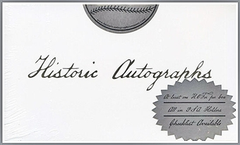 2010 Historic Autographs HOF & All-Star Edition Baseball Hobby Box