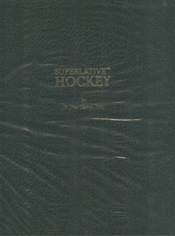 2009/10 ITG Superlative Volume II Hockey Hobby Box