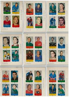 1969/70 O-Pee-Chee Hockey Four in One Complete Set (EX-MT)