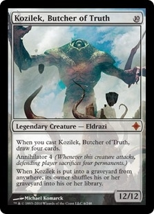 Magic the Gathering Rise of the Eldrazi Single Kozilek, Butcher of Truth - NEAR MINT (NM)