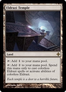 Magic the Gathering Rise of the Eldrazi Single Eldrazi Temple - NEAR MINT (NM)