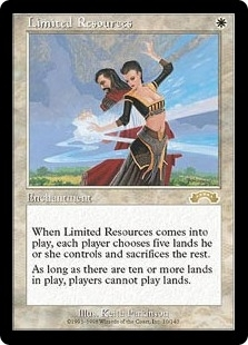 Magic the Gathering Exodus Single Limited Resources - SLIGHT PLAY (SP)