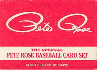 1985 Topps Baseball Pete Rose Factory Set