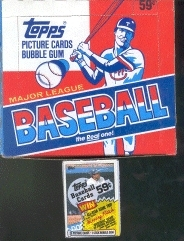 1985 Topps Baseball Cello Box