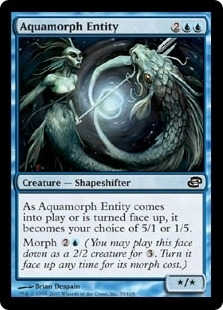 Magic the Gathering Planar Chaos Single Aquamorph Entity - NEAR MINT (NM)