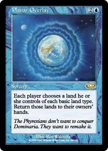 Magic the Gathering Planeshift Single Planar Overlay Foil