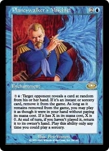 Magic the Gathering Planeshift Single Planeswalker's Mischief UNPLAYED (NM/MT)