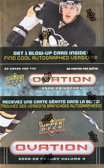 2008/09 Upper Deck Ovation Hockey Volume 4 Box (Tin) - Stamkos!