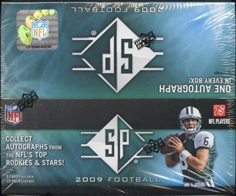 2009 Upper Deck SP Football 24-Pack Box