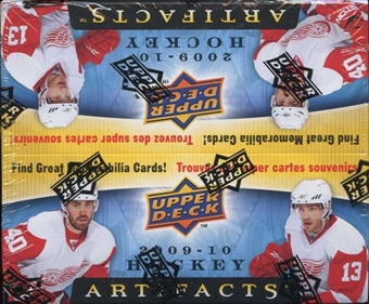 2009/10 Upper Deck Artifacts Hockey 24-Pack Box