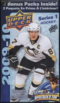 2009/10 Upper Deck Series 1 Hockey 12 Pack Box