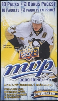 2009/10 Upper Deck MVP Hockey 12 Pack Box