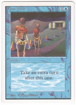 Magic the Gathering Unlimited Single Time Walk - NEAR MINT (NM)