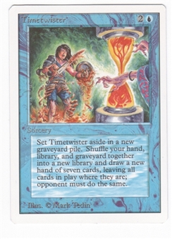 Magic the Gathering Unlimited Single Timetwister UNPLAYED (NM/MT)