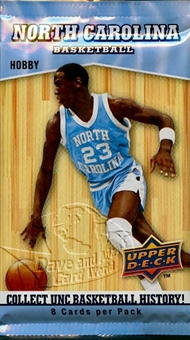 2010/11 Upper Deck North Carolina Basketball Hobby Pack