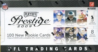 2009 Playoff Prestige Football 8-Pack Box