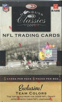 2009 Donruss Classics Football 8-Pack Box