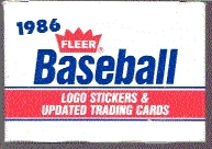 1986 Fleer Update Baseball Factory Set