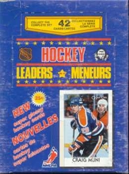 1986/87 O-Pee-Chee Leaders Hockey Box