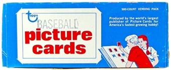 1986 Topps Baseball Vending Box