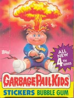 Garbage Pail Kids Series 4 Wax Box (1985-88 Topps)