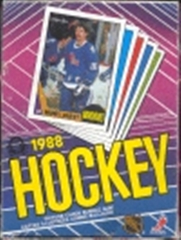 1987/88 O-Pee-Chee Hockey Wax Box