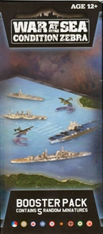 Axis & Allies Miniatures War at Sea Condition Zebra Booster Pack