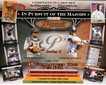 2010 TriStar Pursuit Series 2 Baseball Hobby Box