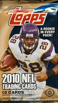 2010 Topps Football Hobby Pack