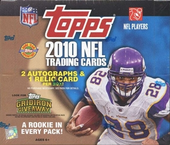 2010 Topps Football Jumbo Box