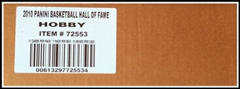 2009/10 Panini Hall of Fame Basketball Hobby 15-Box Case