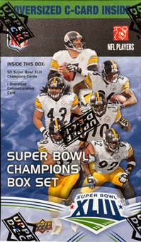 2009 Upper Deck Football Super Bowl XLIII Champions Box Set (Steelers)