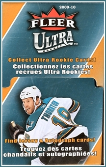 2009/10 Upper Deck Fleer Ultra Hockey 48-Pack Box