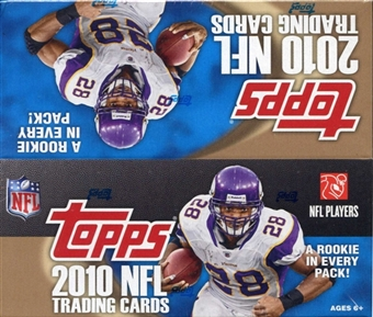 2010 Topps Football 24-Pack Box
