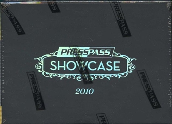 2010 Press Pass Showcase Racing Hobby Box