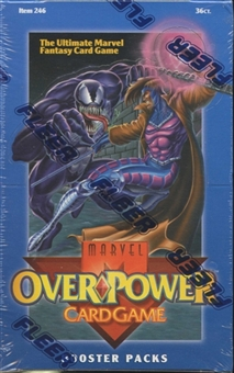 Marvel Over Power Booster Box (1995 Fleer)