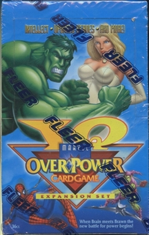 Marvel Over Power IQ Box (1996 Fleer)