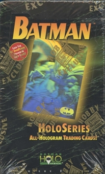 Batman Holo Series Hobby Box (1996 Skybox)