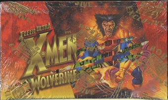 X-Men Wolverine Hobby Box (1996 Fleer Ultra) VERY RARE BOX!!!!