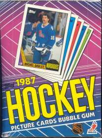1987/88 Topps Hockey Wax Box